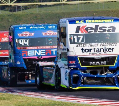 Karštos sunkvežimių lenktynės Smolenske
