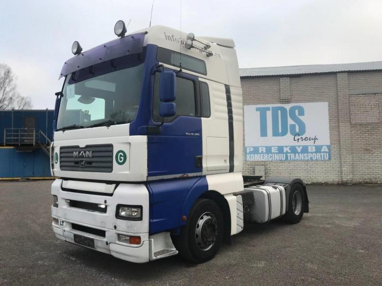 MAN  TGA 18.480 Analog tacho